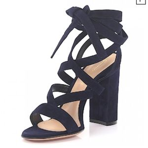 Gianvito Rossi Strappy Lace Up Sandals size 38